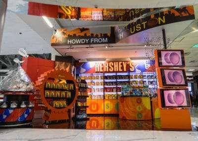 Hershey's Kiosk – IAH Terminal D