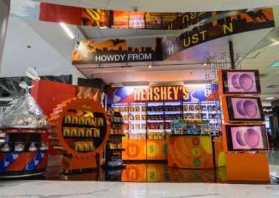 IAH – ATU Hershey's Kiosk – Terminal D