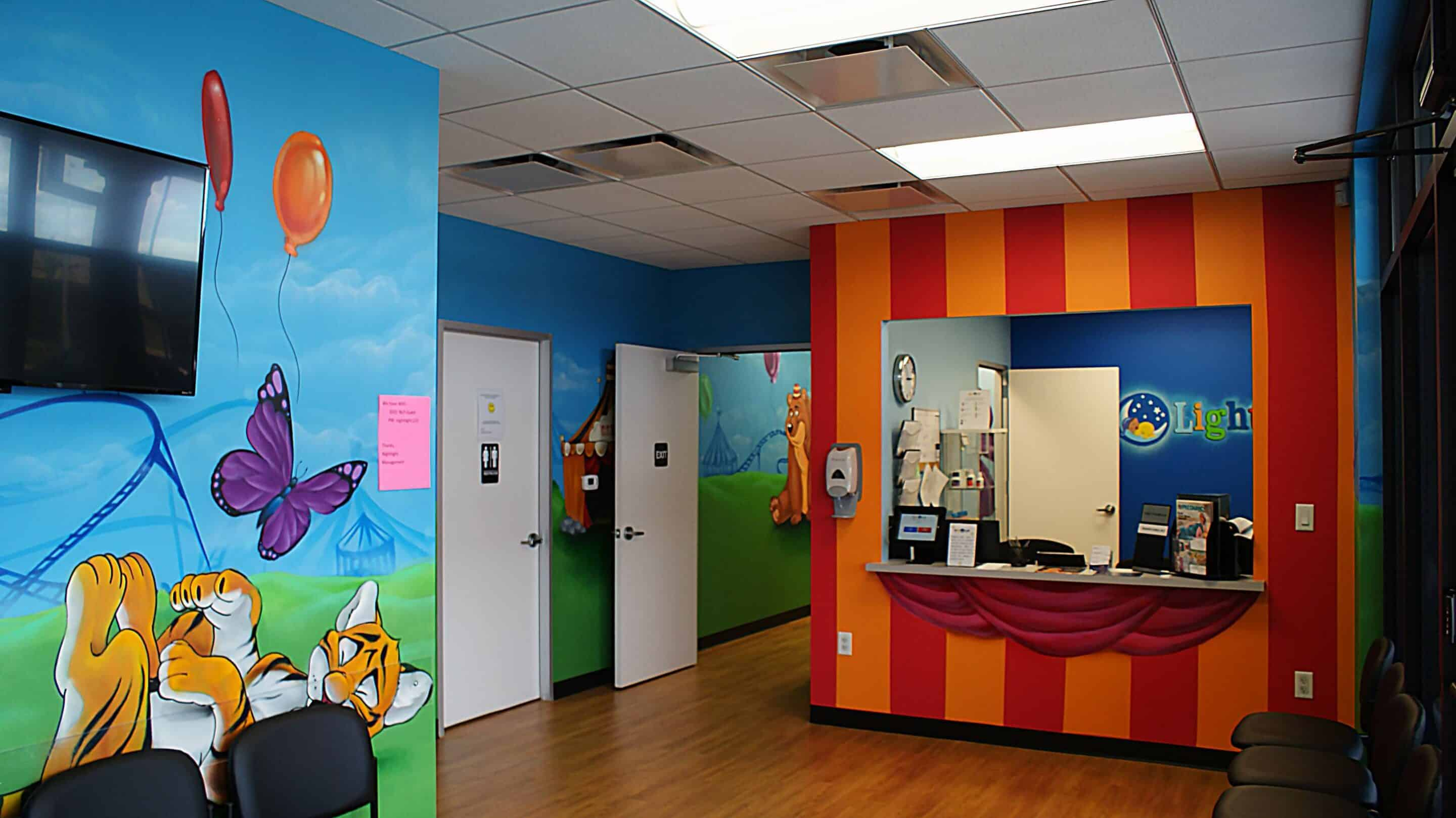 Night Light Pediatric - Tanglewood - A Project By AMB Architects