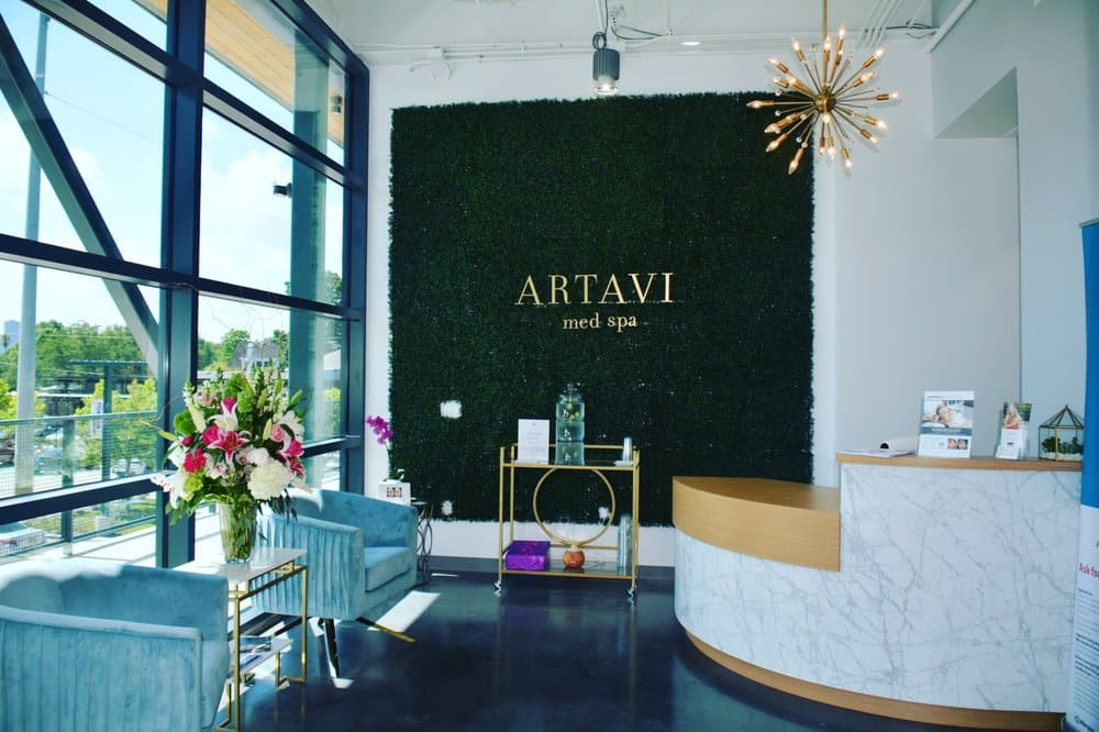 AMB Architects-Artavi Med Spa-2018-Reception 2