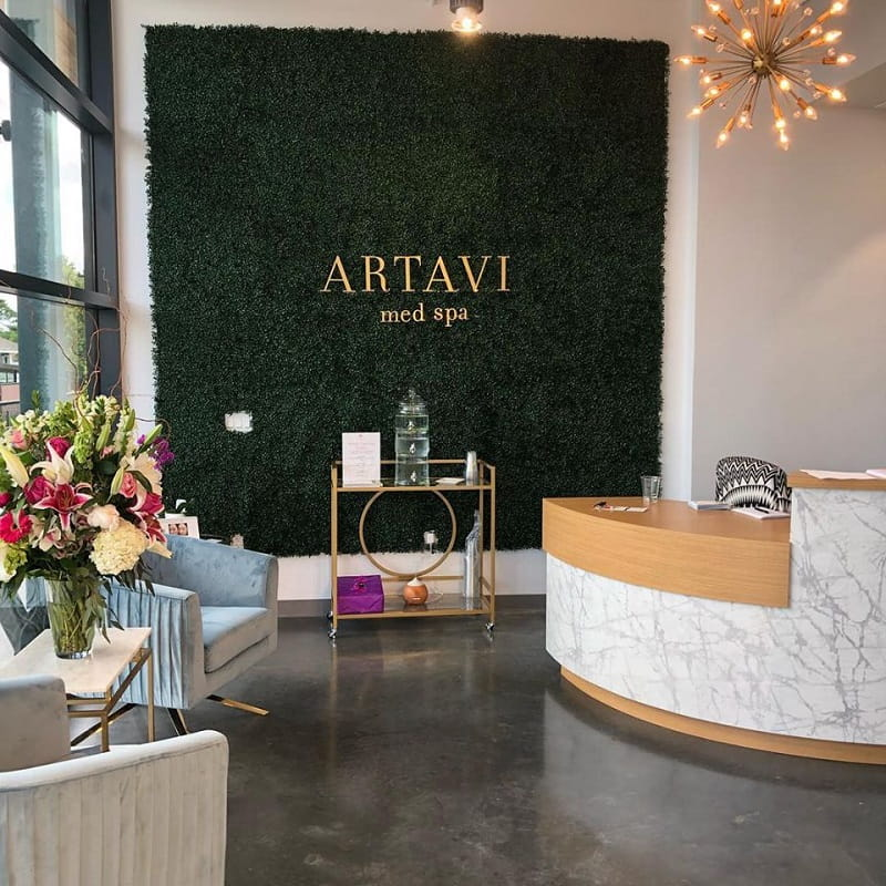 AMB Architects-Artavi Med Spa-2018-Reception
