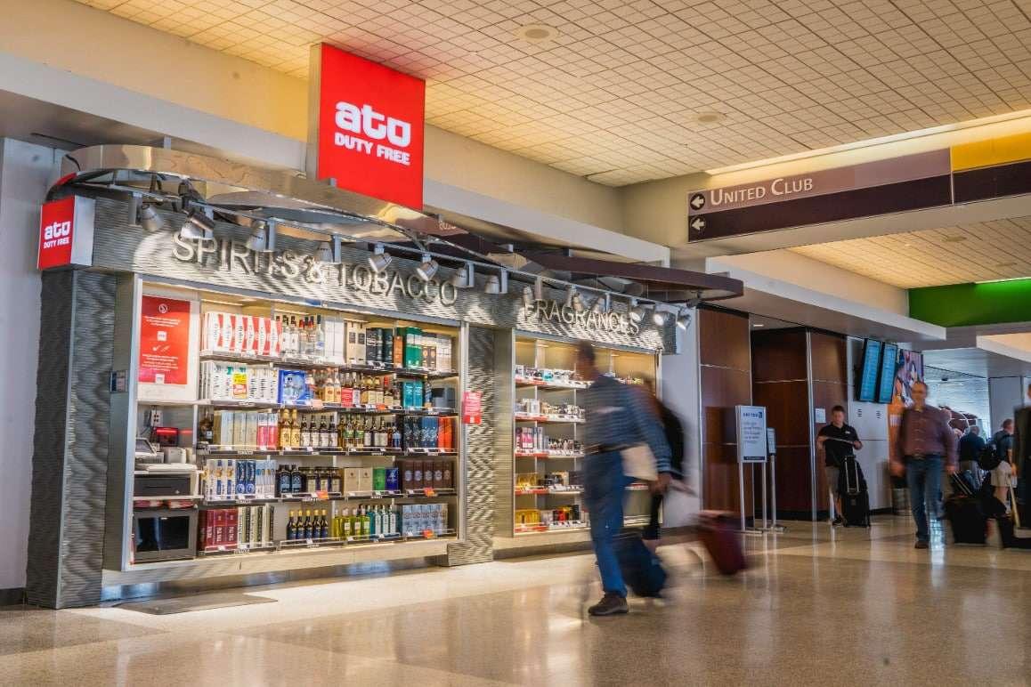 IAH - ATU Duty Free Terminal A Kiosk