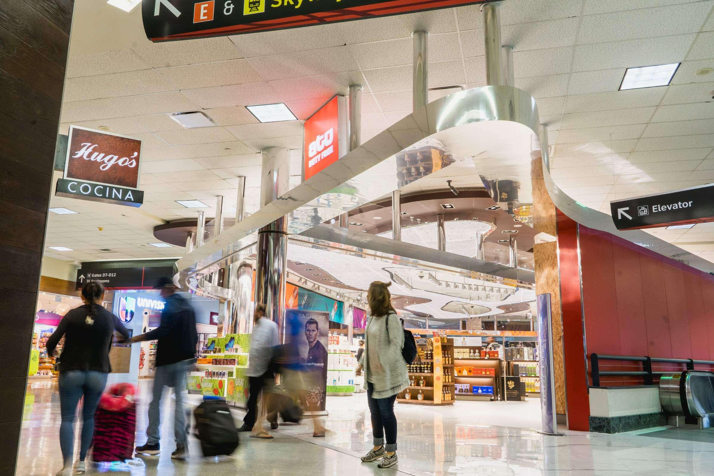 IAH - ATU Duty Free Terminal D